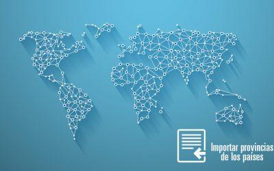 Prestashop: Importar provincias de los países